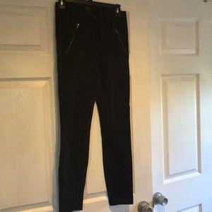 J Crew black pants - leggings